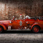 """Fireman - Engine no 2"" by mikesavad"