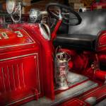 """Fireman - Fire Engine No 3"" by mikesavad"