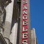 """Los Angeles Theater Sign"" by midcenturymodern"