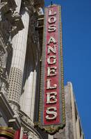 Los Angeles Theater Sign