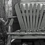 """""""Old Adirondack Chair"""" by bonniebruno"""