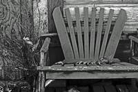 Old Adirondack Chair