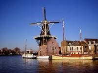 windmill in leiden
