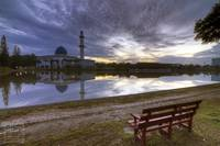 Sunrise | Universiti Tenaga Nasional Mosque | HDR
