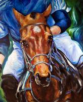 POLO HORSE ORIGINAL by MARCIA BALDWIN