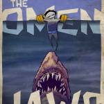 Double Feature: The Omen vs Jaws by Derek Chatwood