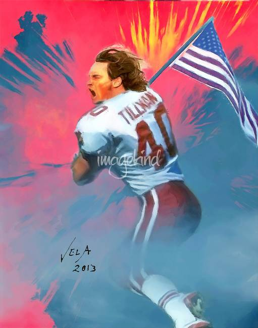 pat tillman a hero or a This is a partial transcript from hannity & colmes, may 7, 2004, that has been edited for clarity alan colmes, co-host: first, a recent political cartoon questioned former nfl star pat tillman's (search) credentials as a hero and implied he was a fool for dying for his country in afghanistan.