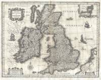 Vintage Map of The British Isles (1631)