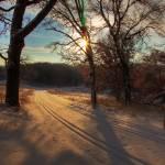 """Golden Winter Morning Landscape"" by WaynePhotoGuy"
