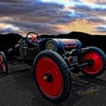 """Ford Model T Racer Beat the Storm Home"" by chassinklier"