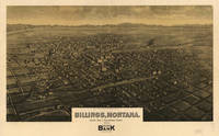 Vintage Map of Billings Montana (1904)