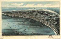 Vintage Pictorial Map of Provincetown (1910)