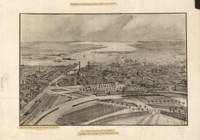 Vintage Pictorial Map of Providence RI (1896)