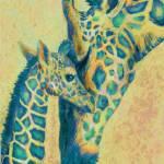 """teal giraffes"" by pietrastone"