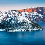 """Winter Morning at Crater Lake"" by Inge-Johnsson"
