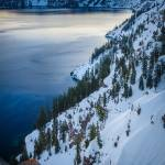 """Winter at Crater Lake"" by Inge-Johnsson"