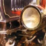 """Headlight From 1917 Truck"" by susansartgallery"