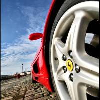 Ferrari F355 Berlinetta Wheel Arch Art Prints & Posters by Steve Reilly