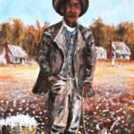 """Zeek The Sharecropper  Southern Folk Art"" by kiphayes"