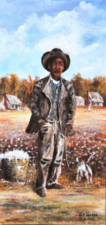 Zeek The Sharecropper  Southern Folk Art