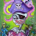 """Pirate Voodoo"" by ArtPrints"