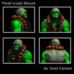 """Thrall model study"" by CannonArts"