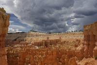 Upcoming thunderstorm at Bryce Canyon
