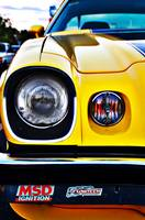 Yellow Camaro front light