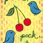 """""""peckpeckpeck"""" by clarevoncupcake"""