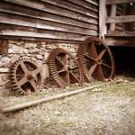 """""""Gears at West Point on The Eno, Durham, NC"""" by SAPhoto"""