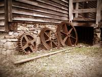 Gears at West Point on The Eno, Durham, NC
