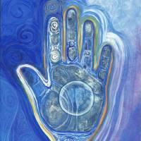 Medicine Hand Art Prints & Posters by Jennifer Lester