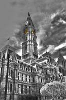 Philadelphia City Hall - HDR/BW