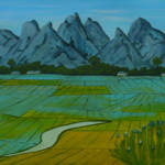 """Rice Fields"" by anthonydunphy"