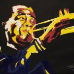 """Louis Armstrong"" by TooLittleTime"