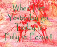 Affirmation: Yesterday and Today 2
