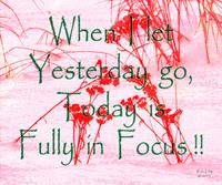 Affirmation: Yesterday and Today 4