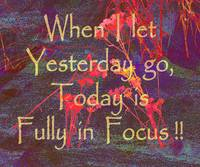 Affirmation: Yesterday and Today 5