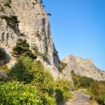 """Crimean Rocks above the old Yalta-Sebastopol road"" by crimea"
