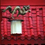 """Chinese Dragon Street Lamp"" by raetucker"