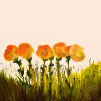 Wild Flowers Art Prints & Posters by Shesh Tantry