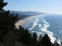 View of Manzanita, Oregon