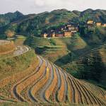 """Village tucked away in Longji"" by johnmacdonald"