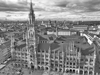 Marienplatz of Munich (Bavaria - Germany)