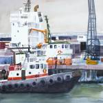 """Tugboat"" by WilliamDunn"