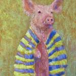 """Pig in a Banket"" by juliapatt"