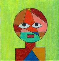 Thank You Mr Klee III, original painting