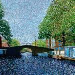 """Amsterdam Netherlands"" by 1004art"