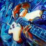 """GUITARMAN"" by MBaldwinFineArt2006"