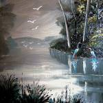 """""""Birds on the River"""" by mazz"""